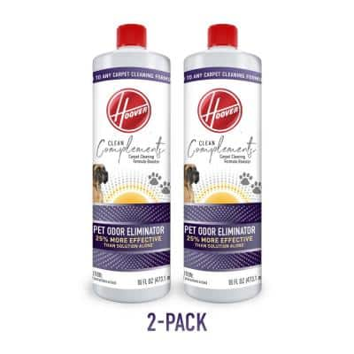Clean Complements 16 oz. Pet Odor Eliminator, Scent Booster Formula for Carpet Cleaner Machines, 2-Pack