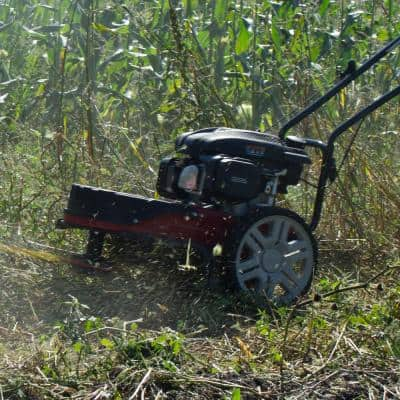 22 in. 150cc Walk Behind OHV Gas String Trimmer Mower