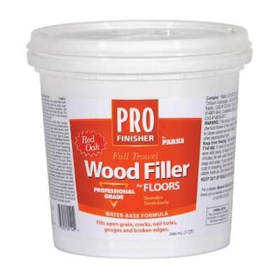 Pro Finisher 1 qt. Red Oak Wood Filler