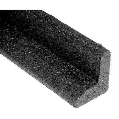 EcoBorder 4 ft. Black Rubber Landscape Edging (48-Count/Pallet)