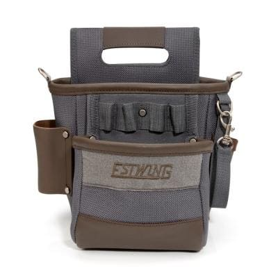 2-Pocket Multi-Purpose Utility/Maintenance Tool Belt Pouch with Shoulder Strap