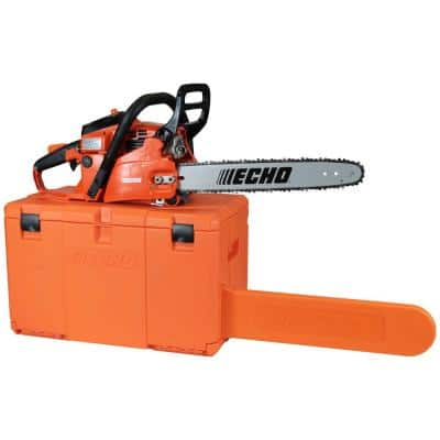 18 in 40.2 cc 2-Stroke Cycle Gas Chainsaw