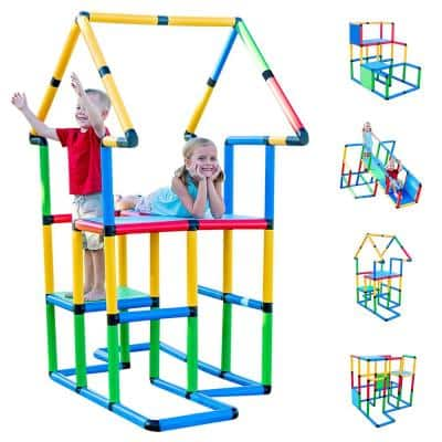 Create And Play Life Size Structures Deluxe Set Fun and Educational Learning Toy (296-Piece)