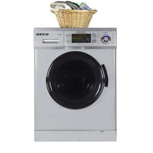 1.57 cu. ft. Silver High -Efficiency Vented / Ventless Electric All-in-One Washer Dryer Combo