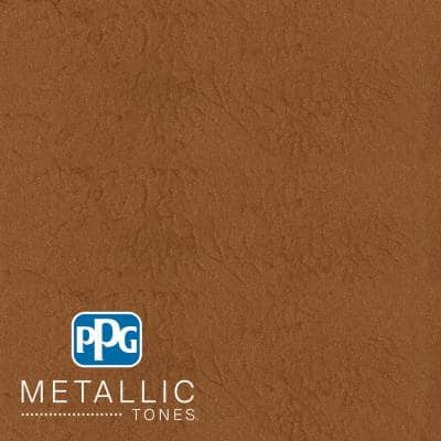 1 gal. #MTL141 Hushed Copper Metallic Interior Specialty Finish Paint