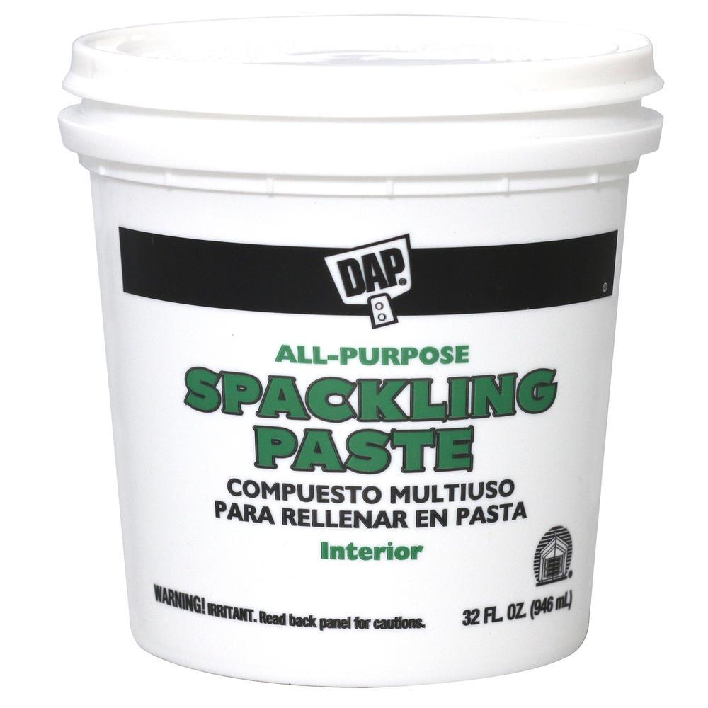 Spackling Paste 32 oz. White All-Purpose