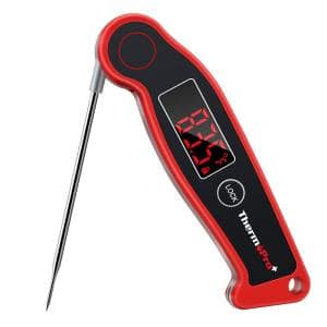 TP–19 Waterproof Digital Fast Read Meat Cooking Foldable Thermometer for BBQ Grill Smoker