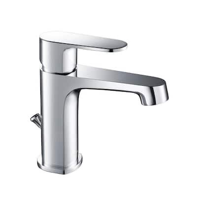 Devon Single Hole 1-Handle 1.2 GPM CALGreen Bathroom Faucet in Chrome