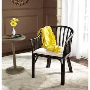 Gino Black Wood Arm Chair