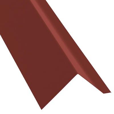 10 ft. 29-Gauge Galvalume EF3 Eave Flashing in Red