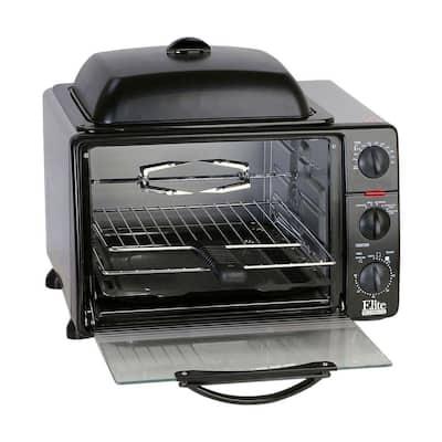 Platinum Black Toaster Oven
