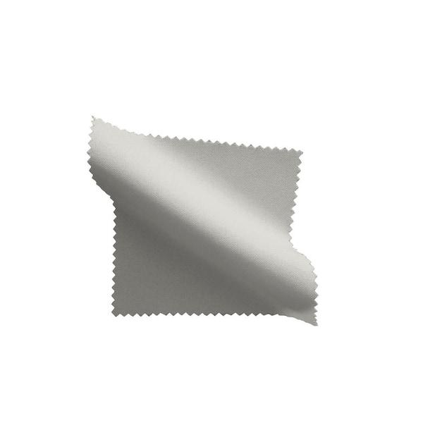 "Gray Poly Royal Crest Linen Tablecloth  Size 52/"" X 72/"""