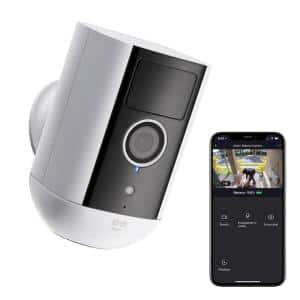 Freebird 1080p Outdoor WiFi Surveillance with Night Vision and Motion Detection Security Camera Compatible with Alexa