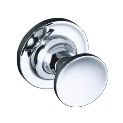 Purist Single Robe Hook in Polished Chrome