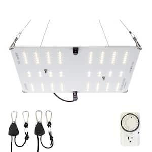 150-Watt Equivalent White Light Full Spectrum LED Plant Grow Light Fixture