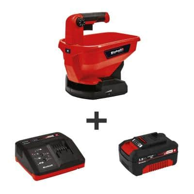 PXC 18-Volt Cordless All Season Hand-Held Spreader Kit w/ 8600 sq. ft. Max Coverage (w/ 3.0-Ah Battery and Fast Charger)