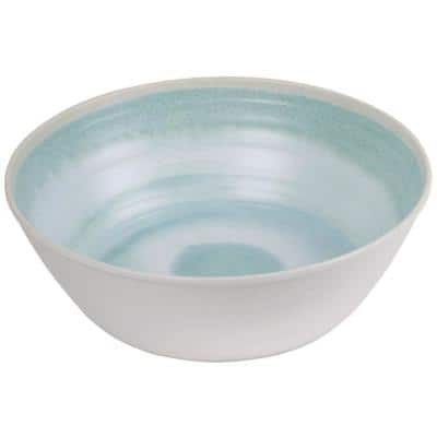 Raku Aqua Melamine Serve Bowl
