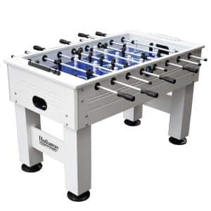 Highlander 55 in. Outdoor Foosball Table with Waterproof Surface Anti-Rust Rods Ergonomic Handles and Analog Scoring
