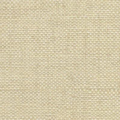 Caviar Neutral Basketweave Neutral Wallpaper Sample