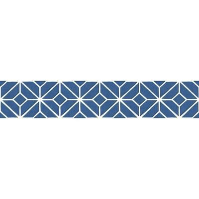 Agean Border blue/white Wallpaper Border