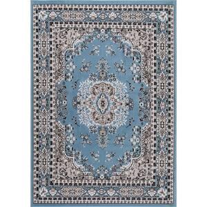 Premium Blue 9 ft. 2 in. x 12 ft. 5 in. Indoor Area Rug