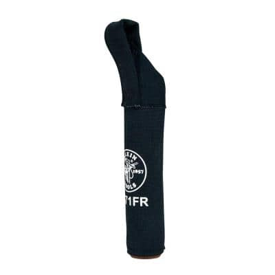 2-1/2 in. Flame-Retardant Canvas Electrode Tool Bag in Black