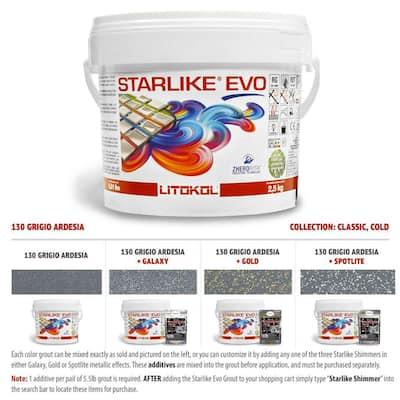 Starlike EVO Epoxy Grout 130 Grigio Ardesia Classic Collection 2.5 kg - 5.5 lbs.