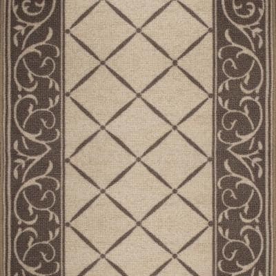 Horchow Tan 26 in. x Your Choice Length Roll Stair Runner
