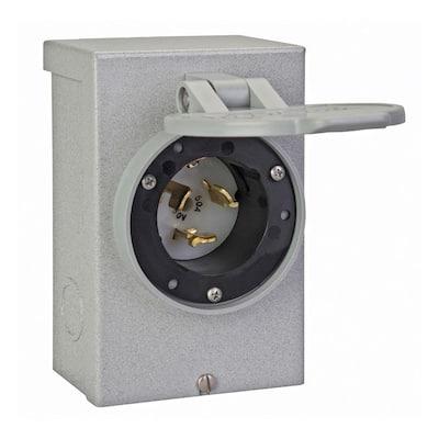 50 Amp Power Inlet Box