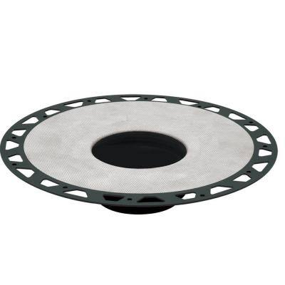 Kerdi-Drain 11-13/16 in. PVC Flange Kit With 3 in. Outlet