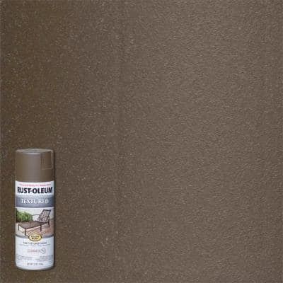 12 oz. Textured Bronze Protective Spray Paint (6-Pack)