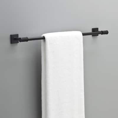 Averland 24 in. Towel Bar in Matte Black