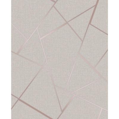 Quartz Rose Gold Fractal Rose Gold Wallpaper Sample