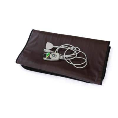 Infrared Heating Mat with Temperature Control Low-EMF Carbon Heaters and Auto Shut-Off