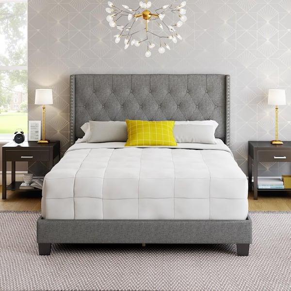Restrite Marlo Grey Linen Queen, Marlo Furniture Reviews