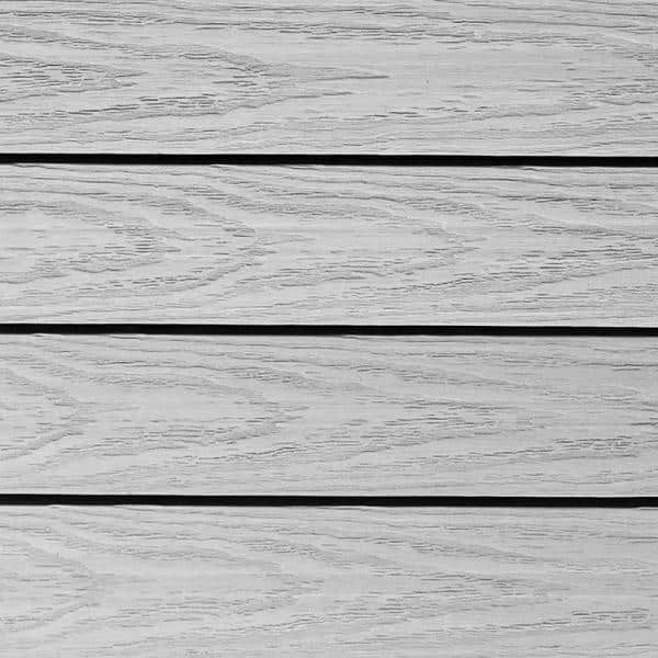 NewTechWood UltraShield Naturale 1 ft. x 1 ft. Quick Deck Outdoor Composite Deck Tile in Icelandic Smoke White (10 sq. ft. per box)   The Home Depot