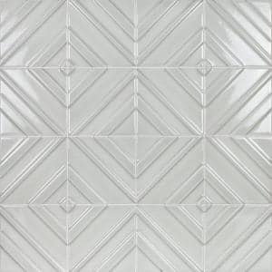 Delphi Argyle Tundra 6 in. x 6 in. Polished Ceramic Wall Tile (4.97 sq. ft. / Case)