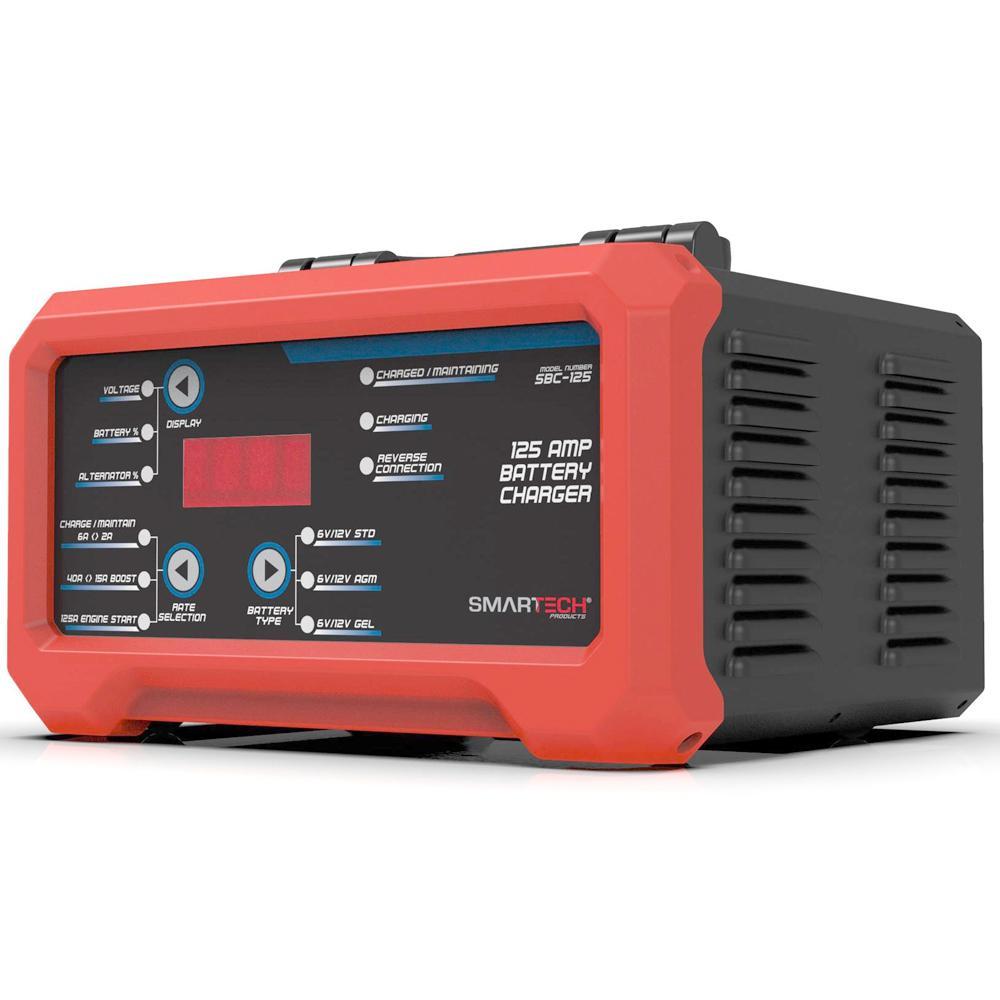 SBC-125 6-Volt/12-Volt Shelf Automotive Battery Charger, Maintainer