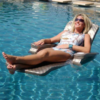 Baja II Bronze Folding Pool Lounge