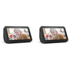 Echo Show 5 in. Charcoal (2-Pack)
