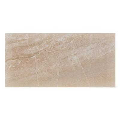 Pietra Bella Beige 12 in. x 24 in. Porcelain Floor and Wall Tile (16.68 sq. ft. / case)