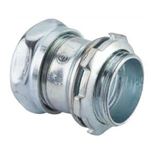 1/2 in. Electrical Metallic Tube (EMT) Compression Connector (25-Pack)