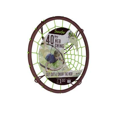Giant Spider Rider Round Web Tree Swing
