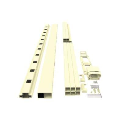 6 ft. x 36 in. H 32-Degree to 38-Degree Dune Stair Rail Kit with 1-1/4 in. Square Balusters