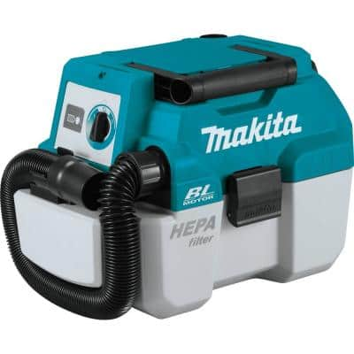 18-Volt LXT Lithium-Ion Brushless Cordless 2 Gal. HEPA Filter Portable Wet/Dry Dust Extractor/Vacuum, Tool Only