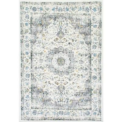 Verona Vintage Persian Gray 8 ft. Square Rug