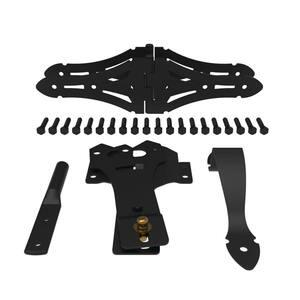 Heavy-Duty Wood Gate Kit - Black