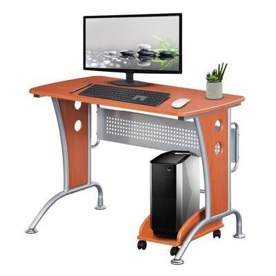 Wheels Computer Desks The, Computer Desk Wheels