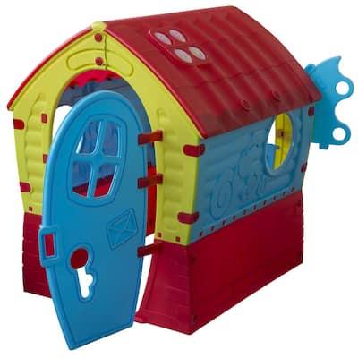 PalPlay Dream House Playhouse in Blue