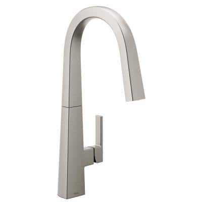 Nio Single-Handle Pull-Down Sprayer Kitchen Faucet with Reflex and Power Clean in Spot Resist Stainless